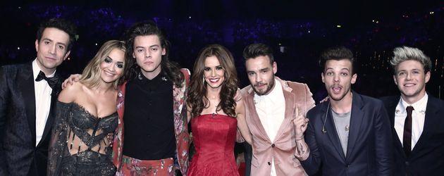 Rita Ora, Cheryl Cole und Nick Grimshaw