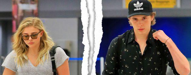 Chloë Moretz und Brooklyn Beckham