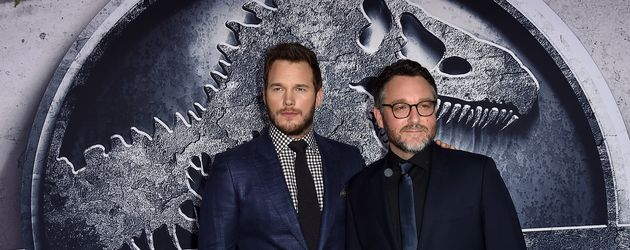 Chris Pratt und Colin Trevorrow