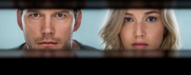 "Chris Pratt und Jennifer Lawrence in ""Passengers"""