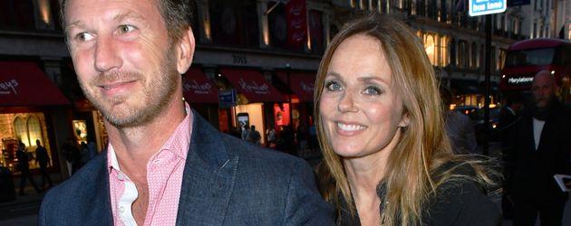 Christian Horner und Geri Halliwell