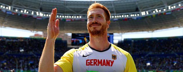 Christoph Harting, Olympia-Gewinner 2016 im Diskurswurf