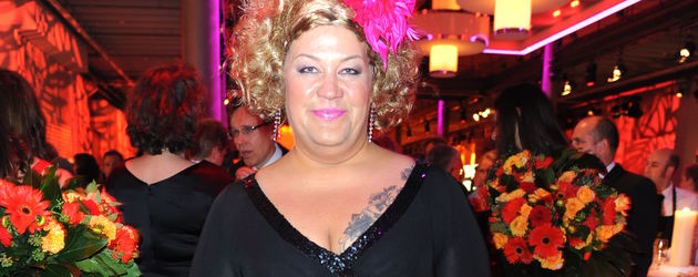 Cindy aus Marzahn beim Deutschen Fernsehpreis