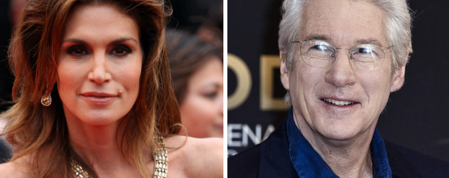 Cindy Crawford und Richard Gere