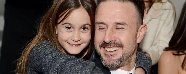 David Arquette und Tochter Coco