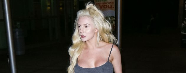 Courtney Stodden in Los Angeles