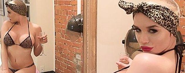 Courtney Stodden mit einer Fast-Glatze