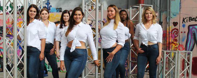 Kandidatinnen von Curvy Supermodel