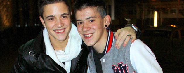 Luca Hänni und Daniele Negroni