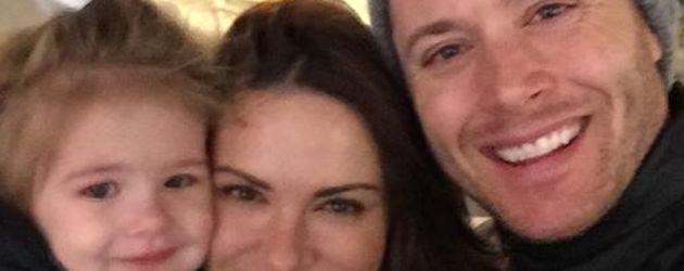 Jensen Ackles und Danneel Harris mit ihrer Tochter