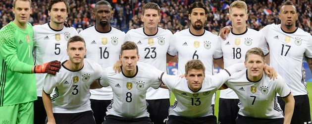 Das DFB-Team bei der EM in Frankreich