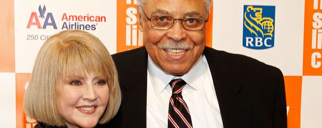 Cecilia Hart und James Earl Jones bei den 38. Chaplin Awards in New York