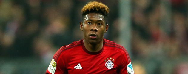 David Alaba ist seit 2010 Profi beim FC Bayern München