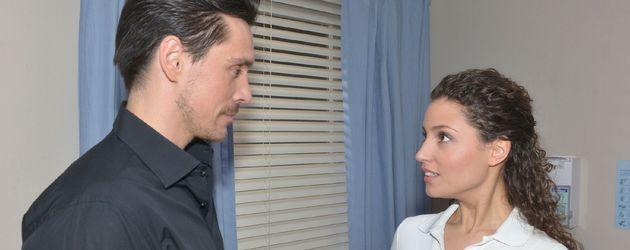 Philipp Christopher und Nadine Menz als David und Ayla bei GZSZ