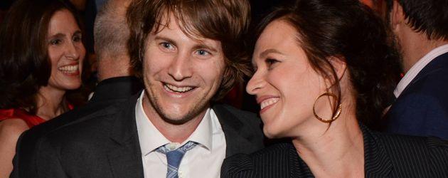 Derek Richardson und Franka Potente, Schauspieler-Ehepaar