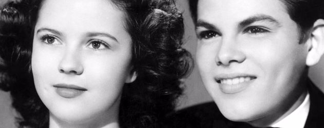 Dickie Moore und Shirley Temple