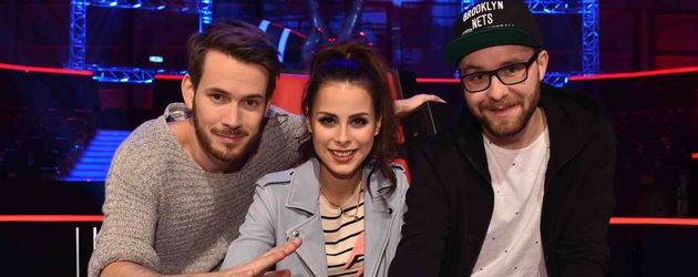 "Die Coaches von ""The Voice Kids"" 2015"