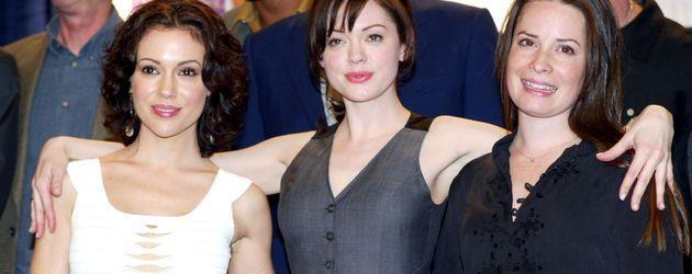 """Alyssa Milano, Rose McGowan und Holly Marie Combs – die """"Charmed""""-Schwestern"""