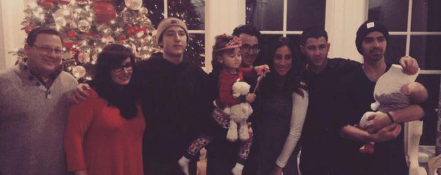 Die Familie Jonas an Weihnachten 2016