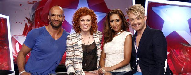 Die Popstars-Jury von 2012