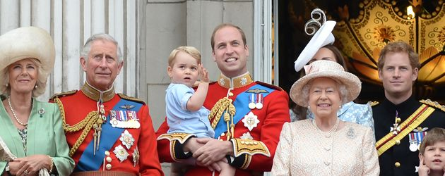 Die Royals bei der Trooping The Colour Parade