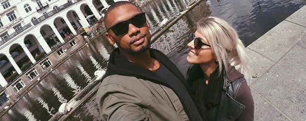 Dominic Harrison und Sarah Nowak