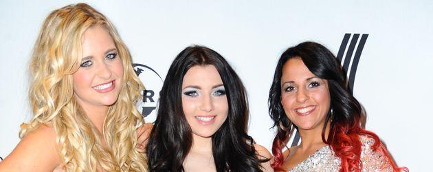 Yasemin Kocak, Melody Haase und Vanessa Valera Rojas