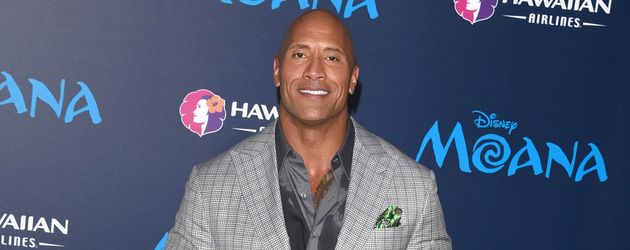 "Dwayne Johnson im November 2016 bei der Filmpremiere von ""Moana"" in Los Angeles"