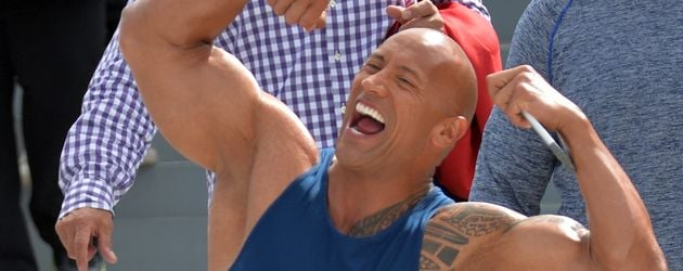 "Dwayne ""The Rock"" Johnson in Miami Beach"