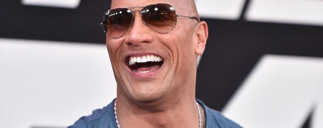 """Dwayne """"The Rock"""" Johnson bei der Welt-Premiere von """"Fast & Furious 8"""""""