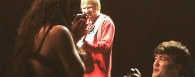 Ed Sheeran, Jesy Nelson und ihr Freund