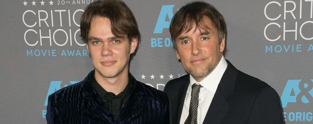 Ellar Coltrane und Richard Linklater
