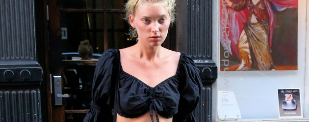 Elsa Hosk in New York