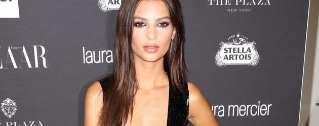 Emily Ratajkowski auf der New York Fashion Week
