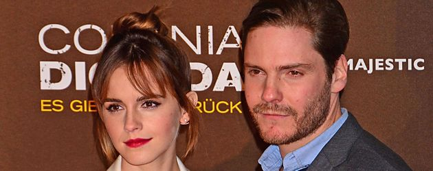 Daniel Brühl und Emma Watson