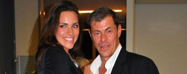 Sven Martinek mit seiner Tochter Esther Sedlaczek