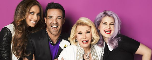 Kelly Osbourne, Giuliana Rancic, Joan Rivers und George Kotsiopoulos