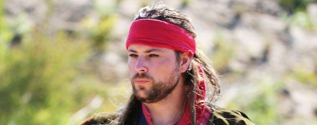 Felix von Jascheroff als Billy Bones im Piraten-Action-Open-Air