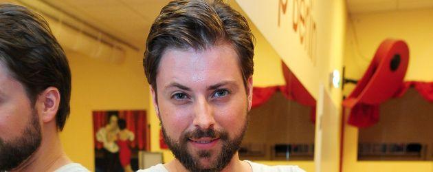 """Felix von Jascheroff beim Training für die RTL-Show """"Stepping Out"""""""