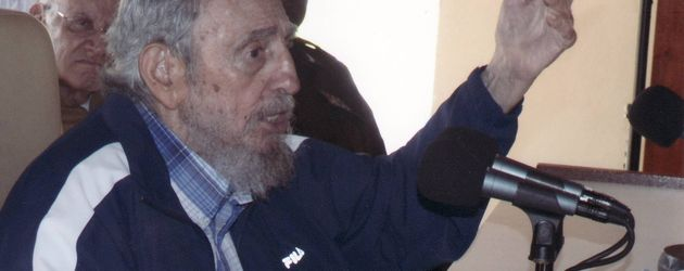 Fidel Castro 2015 in Havanna