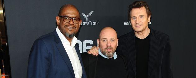 Liam Neeson, Olivier Megaton und Forest Whitaker