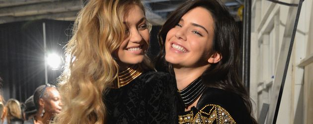 Gigi Hadid und Kendall Jenner, Model-Freundinnen