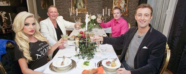 Gina-Lisa Lohfink, Prinz Alexander von Anhalt, Prinz Ferdinand von Anhalt, Prinz Mario-Max zu Schaumburg Lippe