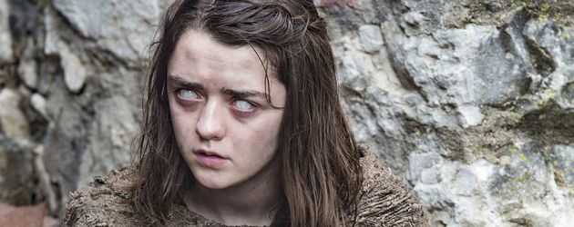 "Maisie Williams, Szene aus ""Game of Thrones"""