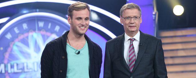Günther Jauch und Leon Windscheid