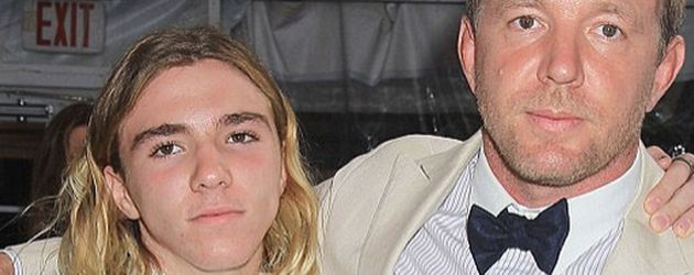 Rocco Ritchie und Guy Ritchie