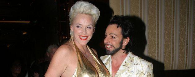 Brigitte Nielsen und Harald Glööckler