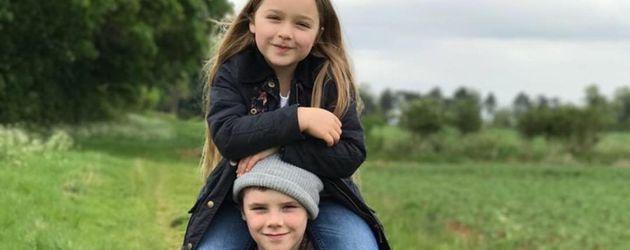Harper Seven und Cruz Beckham