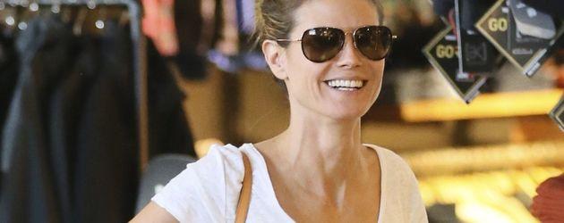 Heidi Klum beim Shoppen mit Ex-Mann Seal