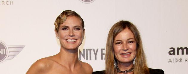 Heidi Klum und Eva Cavalli